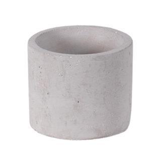 Round Mini Natural Cement Planter