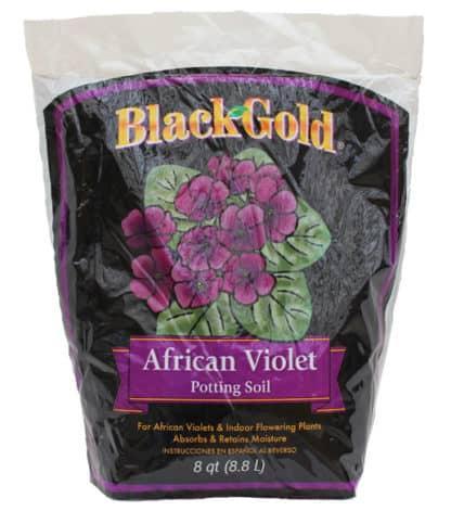 Black Gold African Violet Potting Soil - 8QT