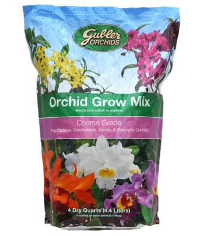 Gubler Coarse Grade Orchid Grow Mix - 4 Dry Quarts