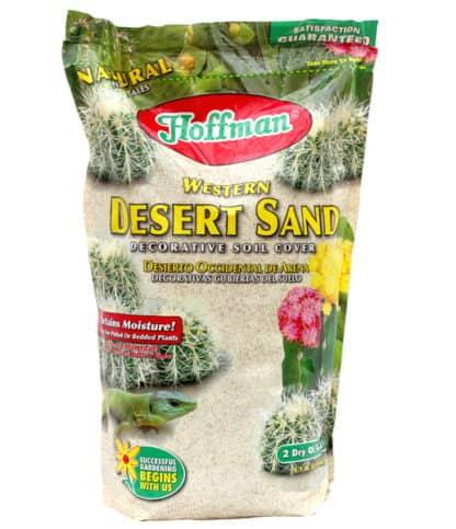 Hoffman Decorative Western Desert Sand Soil Cover - 2 Dry Quarts
